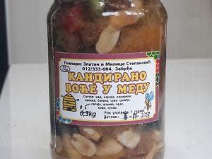 Kandirano voće u medu 500gr