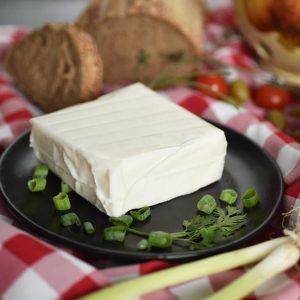 Kozji sir kriška 500gr, Srećna Koza