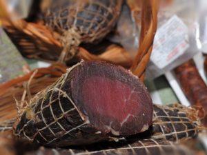 Suvo meso od šunke mangulice 1kg