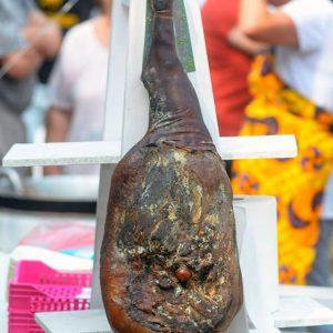 Šunka cela od svinje mangulice 10kg, Mangulica Kovilj