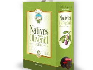 Ekstra devičansko maslinovo ulje iz Dalmacije 5l – organik