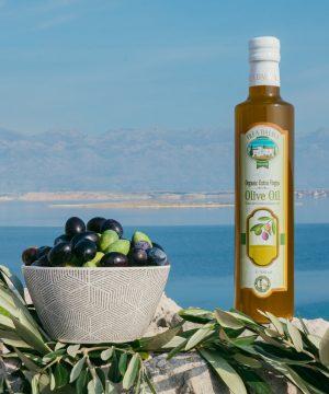 Olea Dalma ekstra devičansko maslinovo ulje iz Dalmacije 1l – organik