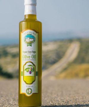 Olea Dalma ekstra devičansko maslinovo ulje iz Dalmacije 500ml – organik