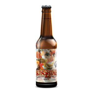 Pivo Sunshine pšenično 0,33l, Crow brewery