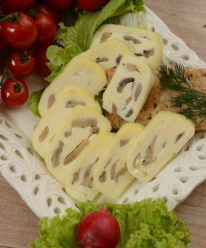 Rolovani kravlji sir sa šampinjonima 300gr Sir za svaki dan