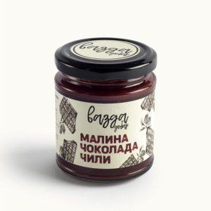 Slatki namaz Malina, Čokolada & Čili 220gr, Vazda Dobar