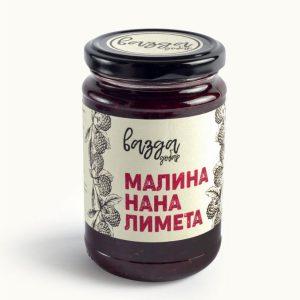 Slatki namaz Malina, Nana & Limeta 350gr, Vazda Dobar