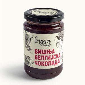 Slatki namaz Višnja & belgijska čokolada 350gr, Vazda Dobar